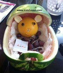 Kids project Idea-Fruit basket